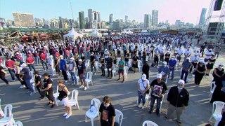 Um ano depois da explosão, Beirute lembra vítimas e questões por responder