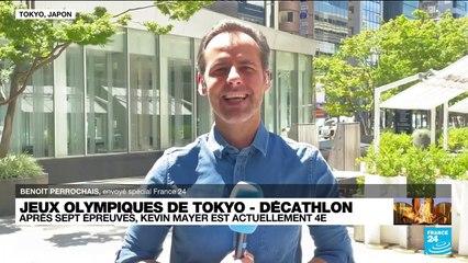 JO de Tokyo - Décathlon : le Français Kévin Mayer se rapproche du podium