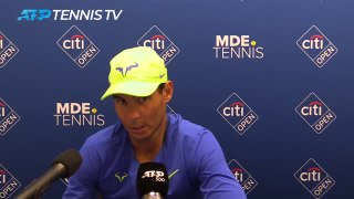 Nadal fights foot pain to beat Sock in Washington