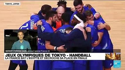 JO de Tokyo  - Handball : la France bat l'Égypte et décroche sa place en finale