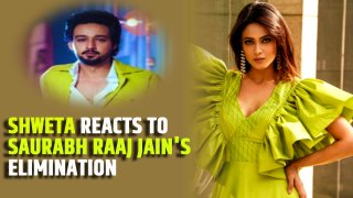 Khatron Ke Khiladi 11: Shweta Tiwari reacts to Saurabh Raaj Jain's shocking elimination