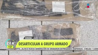 Un operativo conjunto llevó a la captura de integrantes de un grupo delictivo en Sonora