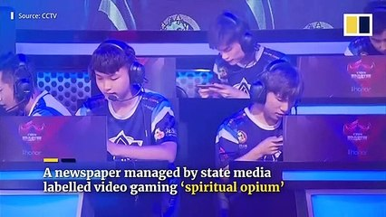 Tencent narrows kids' playing time on video games labelled 'spiritual opium' by Chinese state media