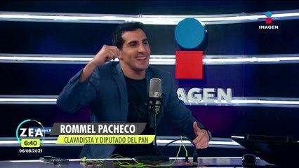 Rommel Pacheco habla acerca de su entrada en la política