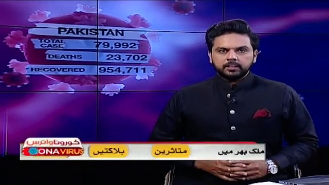 Coronavirus  update in Pakistan – Breaking News – SAMAA TV