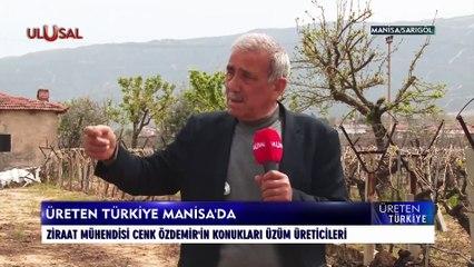 Üreten Türkiye - 8 Ağustos 2021 - Cenk Özdemir - Manisa/Sarıgöl - Ulusal Kanal