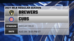 Brewers @ Cubs Game Preview for AUG 09 -  8:05 PM ET