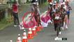 JO : le mauvais geste du Français Morhad Amdouni qui prive volontairement les concurrents d'un ravitaillement au marathon