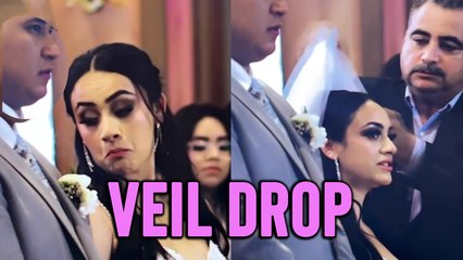'Wedding Fail | Dad's Funny Response to Daughter's Veil Falling Off *≈19 Million Views*'
