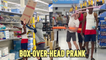 'Box-Over-Head Prank with Stranger in Store | Try Not to Laugh'