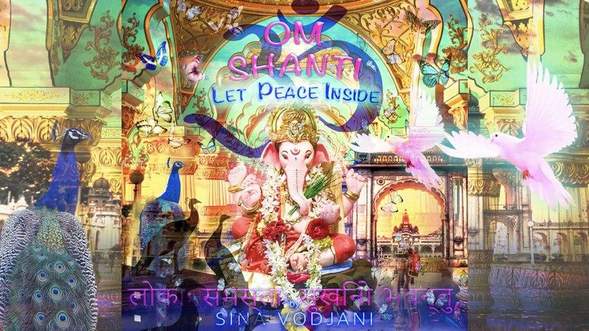 Sina Vodjani - OM SHANTI - Let Peace Inside