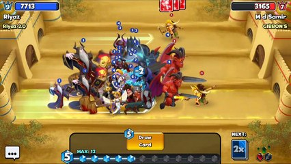 Castle Crush  Tripple Demons HUGE Rush Army  Never Seen Before Such Rush  Castle Crush Gameplay # UNCONTROLLED TROOPS