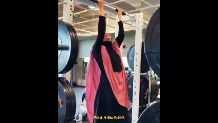Muslim Girl Workout in Burka # GIRLS POWER