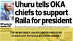 The News Brief: Uhuru under pressure to kick out Ruto allies from cabinet