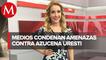 Medios internacionales informaron sobre amenazas contra Milenio y Azucena Uresti