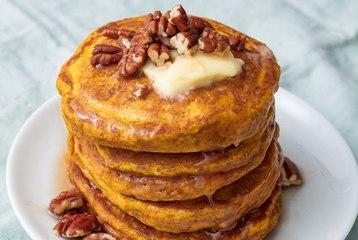 Pumpkin Pancakes Make A Good Morning Perfect