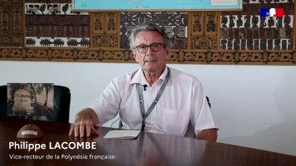 Message de rentrée de monsieur Philippe LACOMBE, vice-recteur de Polynésie française à tous les personnels du système éducatif, aux élèves et aux parents