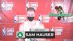 Sam Hauser On Making 6 3-Pointers   Celtics vs Magic 8-12