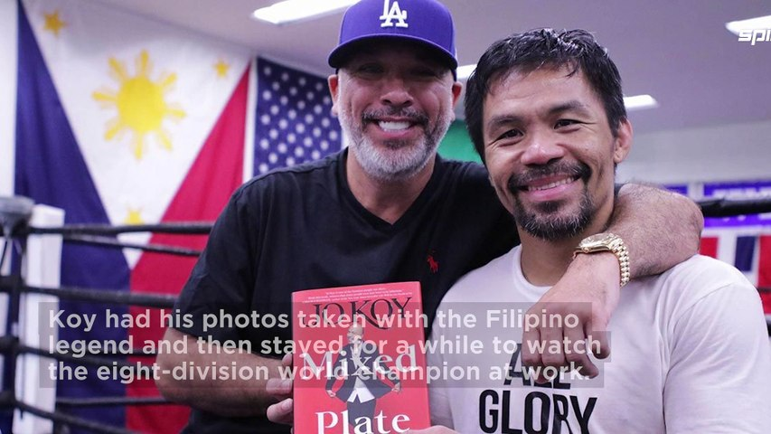Jo Koy brings house down at Pacquiao training camp