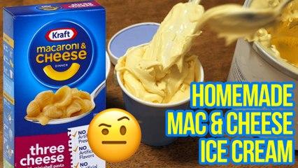 BoxMac 163: Homemade Macaroni and Cheese Ice Cream