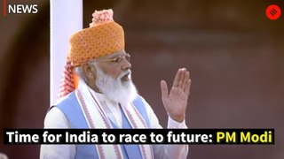 Time for India to race to future: PM Modi