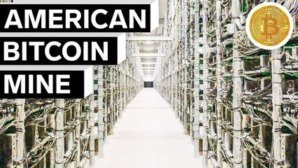 Inside the Largest Bitcoin Mine in The U.S.