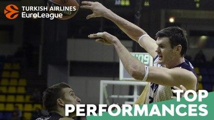 Top Performances, 2013-14: Darius Lavrinovic, Budivelnik Kiev