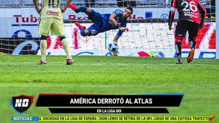 Gol de Córdova frente al Atlas