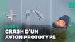Russie: 3 morts dans le crash d'un prototype d'avion militaire