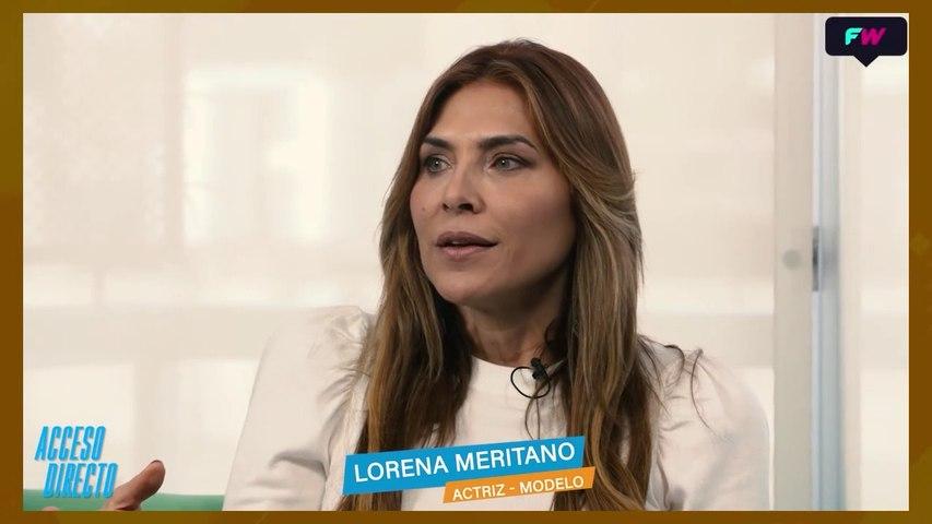 Acceso Directo. Lorena Meritano en una entrevista exclusiva, donde nos cuenta todo sobre su vida.