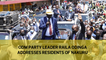 ODM Leader Raila Odinga addresses Nakuru residents