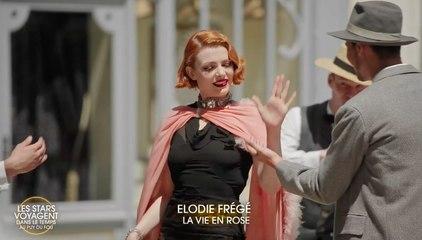 """Les Stars voyagent dans le temps au Puy du Fou : Elodie Frégé interprète """"La vie en rose"""""""