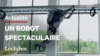 Ce robot humanoïde saute des obstacles et réalise des backflips