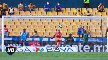 Primer gol de Thauvin con los Tigres.