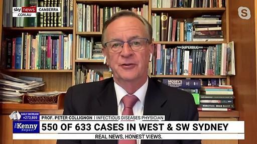 'Good news in Sydney' despite COVID-19 outbreak