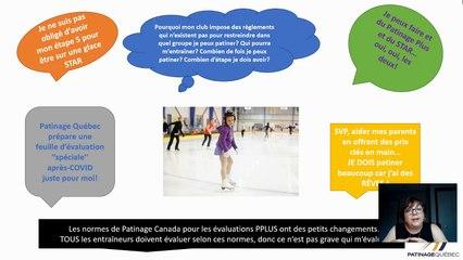 LE RETOUR! -programme de patinage 2021