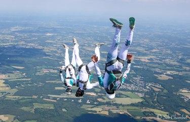 Un Nantais vice-champion du monde de parachutisme artistique