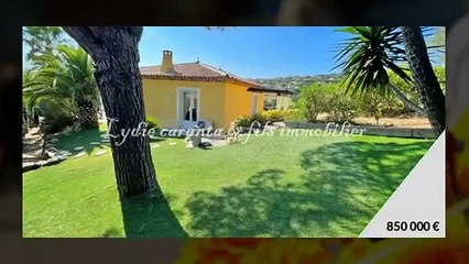 EXCLUSIVITE Vente Villa 5 Pièces Sainte-Maxime avec piscine