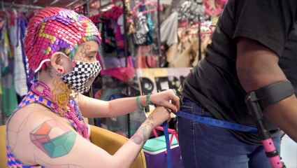 How one-of-a-kind outfits are created for disabled people