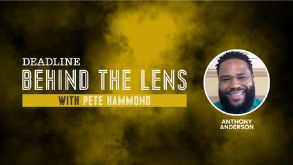 Anthony Anderson   Behind The Lens