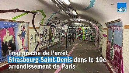 Visite d'une station de métro fantôme à Paris, abandonnée depuis 1939