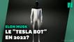 """Découvrez """"Tesla Bot"""", le robot humanoïde d'Elon Musk"""