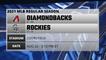 Diamondbacks @ Rockies Game Preview for AUG 22 -  3:10 PM ET
