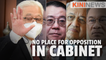 #KiniNews: No place for opposition in Ismail Sabri's cabinet