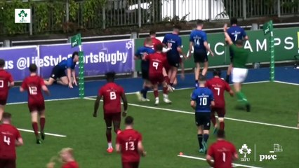 PwC  Interprovincial Highlights: Leinster U18 Clubs v Munster U18 Clubs