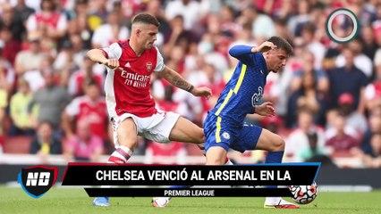 Gol de Lukaku en su debut con el Chelsea.