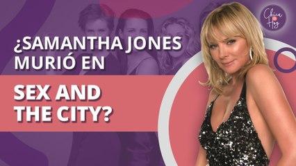 Sex and the City: ¿Samantha Jones murió en la serie?   Sex and the City: Samantha Jones died on the show?