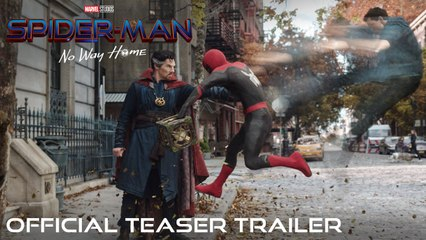 SPIDER-MAN NO WAY HOME - Official Teaser Trailer (VO)