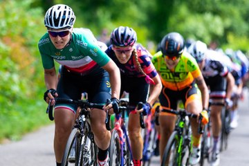Women's cycle tour video montage