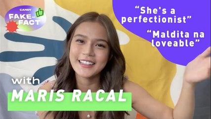Maris Racal: Perfectionist? Mahinhin? Hindi marunong mag-bake?   FAKE or FACT CANDY